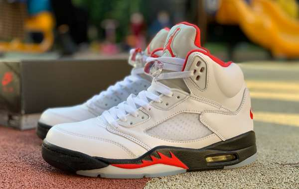2020 Air Jordan 5 Retro Fire Red Da1911-102 For Sale