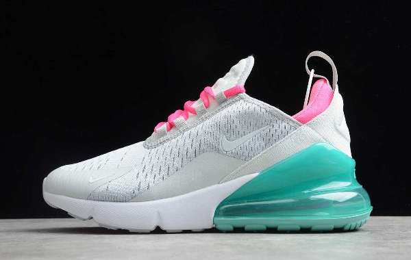 "AH6789-065 Women's Nike Air Max 270 ""South Beach"""
