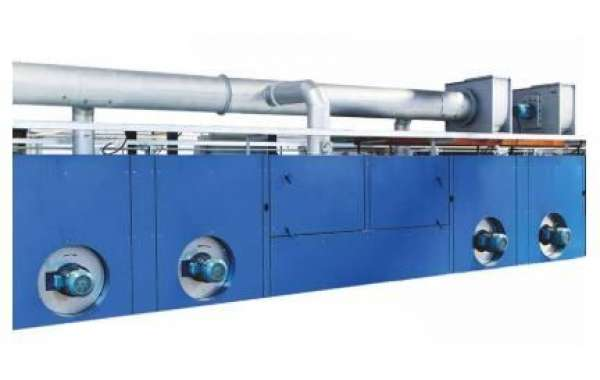 Introduction Of Hot Air Stenter Machine Operation