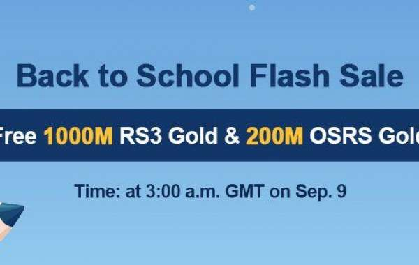 Only One Day!Free runescape gold buyer will come as Back to School promo Sep. 9!Ready?
