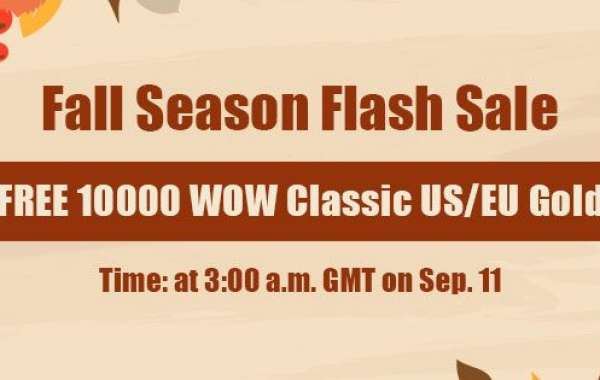 Free 10000 safe and cheap wow classic gold on WOWclassicgp as Fall Season Flash Sale
