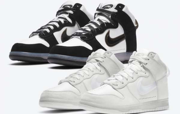 Slam Jam x Nike Dunk High black And White Panda Colorway On Sale This Month